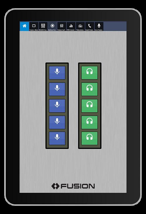 IP-Tablet Pathfinder Button Virtual Radio App - Axia IP-Tablet Virtual Radio