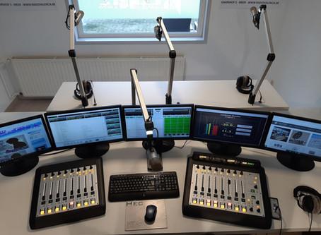 Radio Valencia new digital studio.