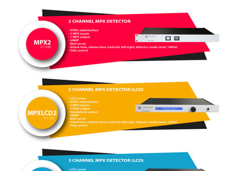 TVV Sound exclusive product MPX Detector! First of its kind!