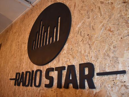 Radio Star new digital studio.