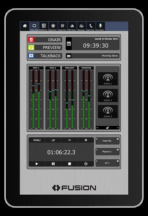 IP-Tablet PowerStation Virtual Radio App - Axia IP-Tablet Virtual Radio Software