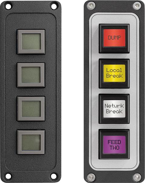 Four-Key SmartSwitch Button Panel - Studio Control Panels