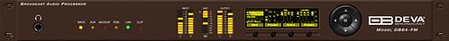 DB64-FM – FM Radio 4-Band Broadcast Audio Processor with RDS/RBDS Encoder