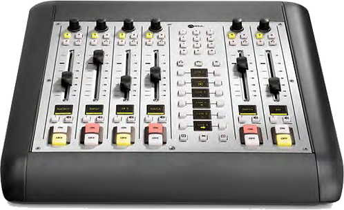 6-Fader Telco Expansion Frame - iQ AoIP Mixing Console