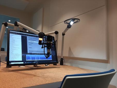 New recordingstudio for Luisterpunt Bib.