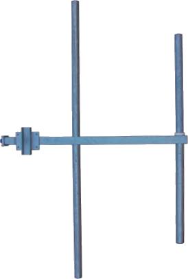 FM Yagi 2 elements antenna broadband