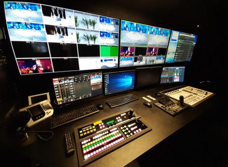 MENT TV new 4K TV studio.  Full pathfinder core pro control.