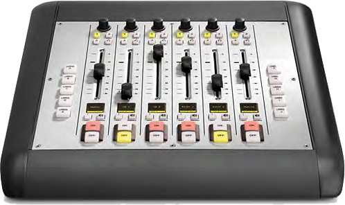 6-Fader Expansion Frame with User Keys - iQ AoIP Mixing Console