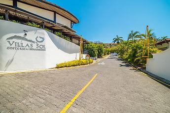 Villas Sol entrance