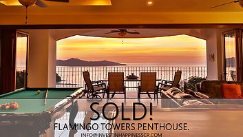 Flamingo Towers Penthose | Under Contract | Flamingo | Playa Flamingo | Costa Rica | Invest in Happiness Costa Rica
