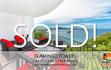 Flamingo Towes Unit 30 | Flamingo | Playa Flamingo | For Sale | Costa Rica | Invest in Happiness Costa Rica