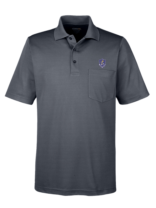 10th TFS - 88181P Core 365 Men's Origin Performance Piqué Polo with Pocket