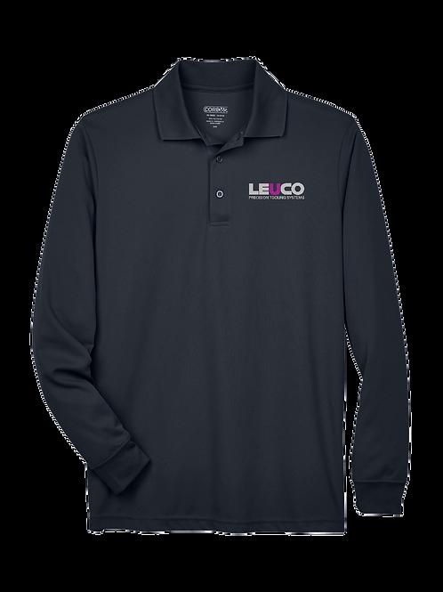 88192T Core 365 Men's Tall Pinnacle Performance Long-Sleeve Piqué Polo