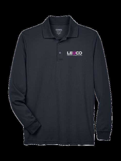 88192 Core 365 Men's Pinnacle Performance Long-Sleeve Piqué Polo