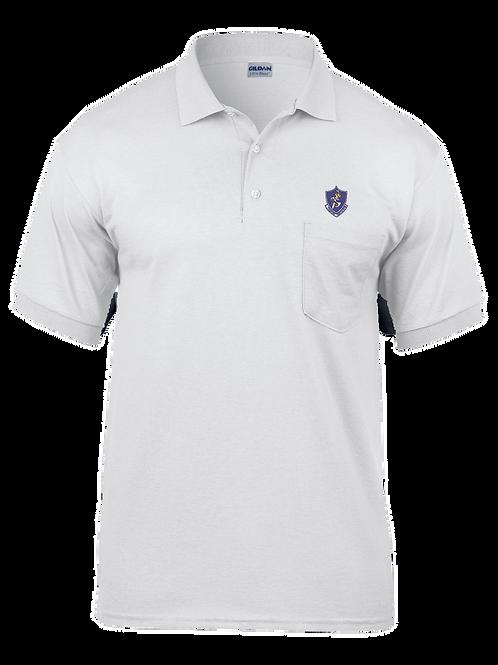 10th TFS - G890 Gildan Adult 6 oz., 50/50 Jersey Polo with Pocket