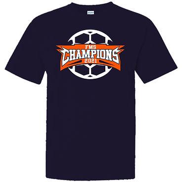 Soccer Championship T-Shirt Design-FMS21