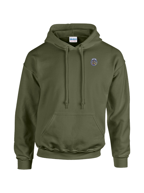 496th - G185 Gildan Heavy Blend™ 8 oz., 50/50 Hooded Sweatshirt