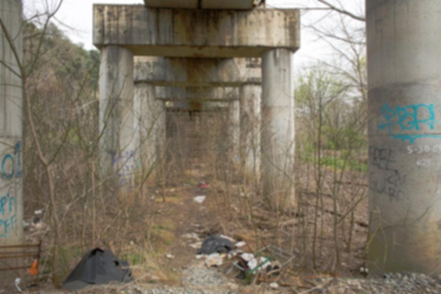 Atlanta Cheshire Bridge Train Bridge TV.
