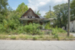 Atlanta Vine City Abandoned House Crop S