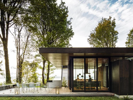 Cabins That InspireSeries (Pt 3): Modern Glass Cabin