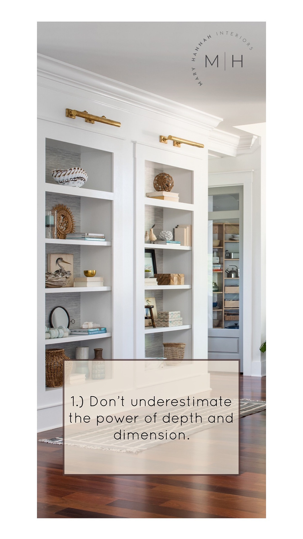 Mary Hannah Interiors | Studio Blog | When Styling Bookshelves, Here are 7 Design Tips to Consider