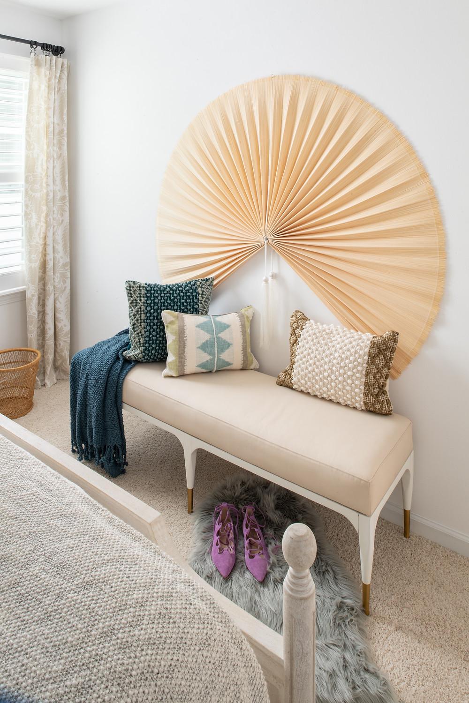 Mid-mod Coastal Casa: Home Tour, Guest Bedroom Mary Hannah Interiors Studio Blog