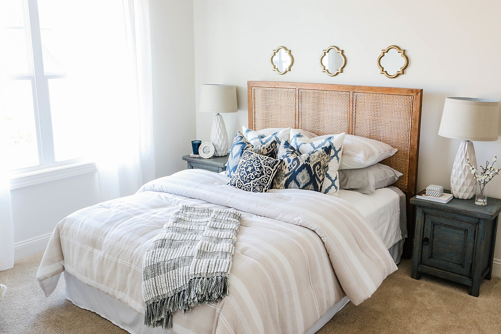 RiverLights+Quaint+Model+Home+--+Home+Tour+--+Guest+Bedroom+--+Mary+Hannah+Interiors