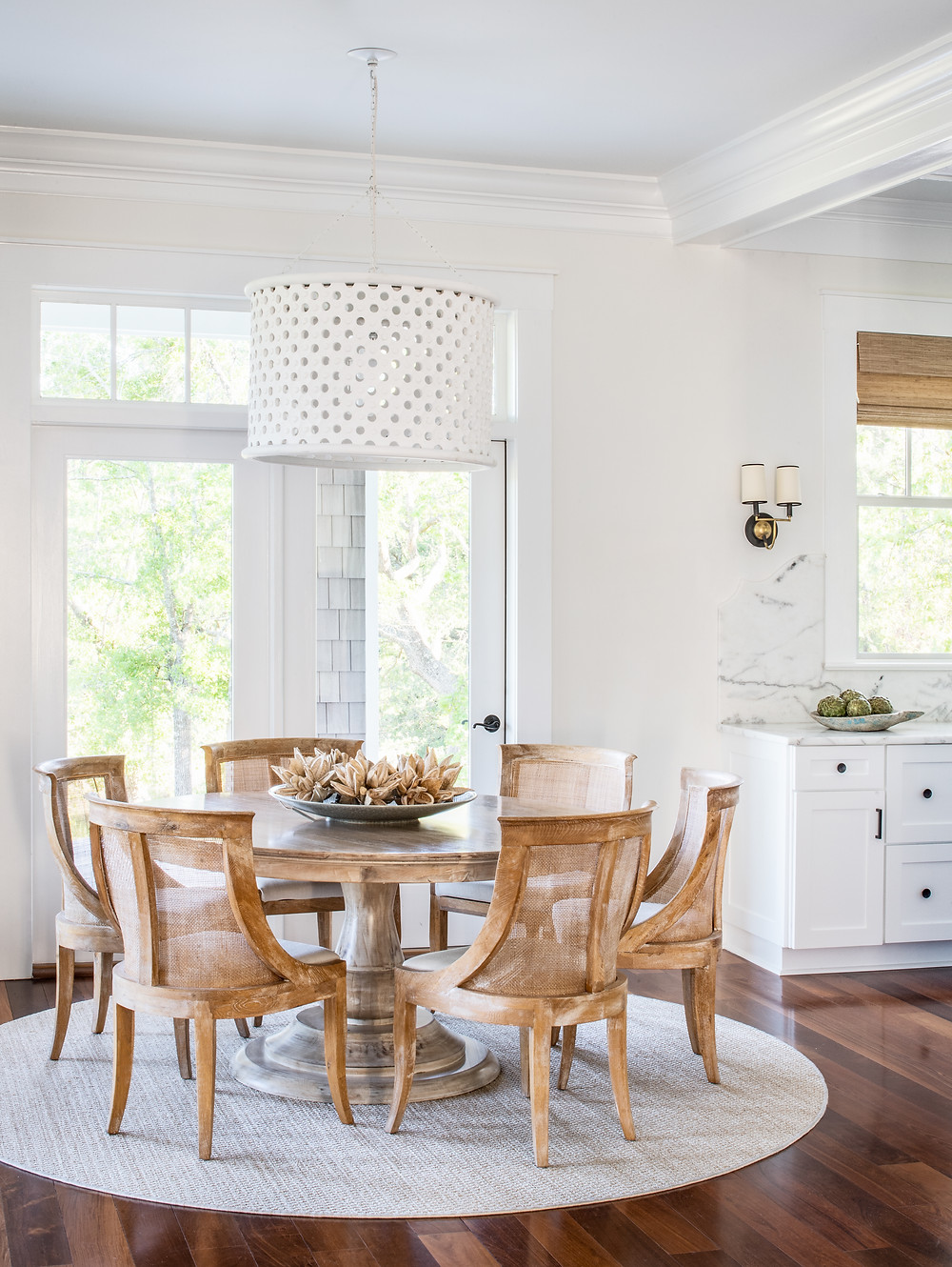 Mary Hannah Interiors | Studio Blog | Dream Cottage with a View: Home Tour, Breakfast Nook and Kitchen | Wilmington Designer