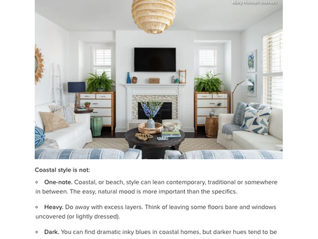 Mary Hannah Interiors Featured on Houzz (Again!)