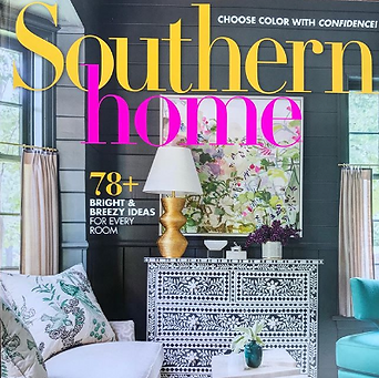 Mary Hanna Interiors in Southern Home Magazine Press
