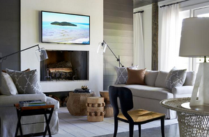 Mary Hannah Interiors Where to Place and How to Conceal Your TV Samsung Frame TV