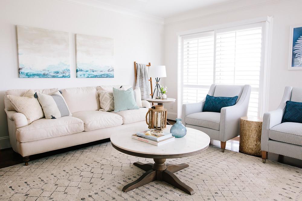 Wrightsville+Beach+Condo:+Home+Tour,+Living Room+--+Mary+Hannah+Interiors+--+Studio+Blog