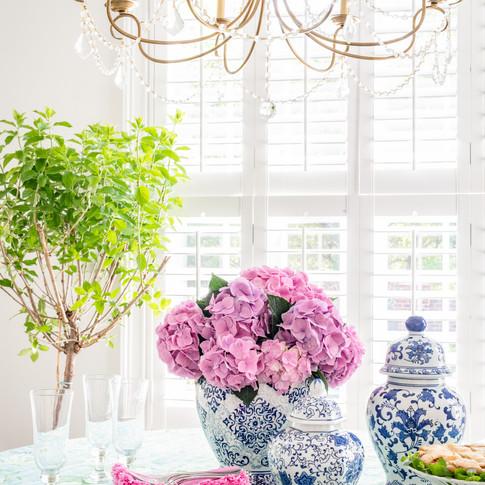 Mary Hannah Interiors Wilmington Designer Portfolio Elegant Retrohemian Chateau
