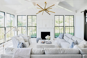 Mary Hannah Interiors Where to Place and How to Conceal Your TV Muskoka Living Interiors
