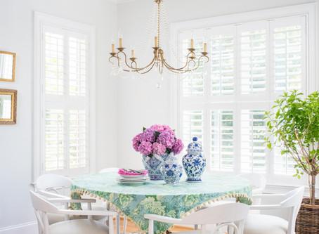 Elegant Retrohemian Chateau: Home Tour, Breakfast Nook and Kitchen