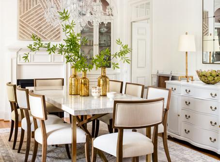 Elegant Retrohemian Chateau: Home Tour, Formal Dining Room