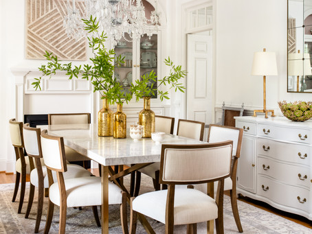Elegant Retrohemian Chateau: Home Tour, Formal Dining Room
