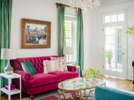 Elegant Retrohemian Chateau: Home Tour, Formal Living Room