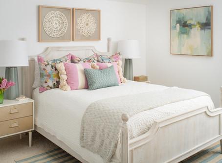 Mid-mod Coastal Casa: Home Tour, Guest Bedroom