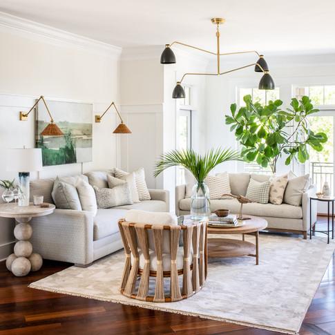 Mary Hannah Interiors Wilmington Designer Portfolio by Room Living Room