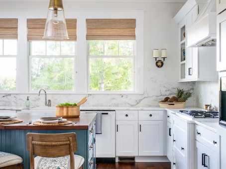 Dream Cottage with a View: Home Tour, Breakfast Nook and Kitchen