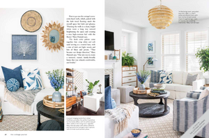 Mary Hannah Interiors | Studio Blog | MHI IN THE PRESS: Featured in The Cottage Journal's Summer Issue