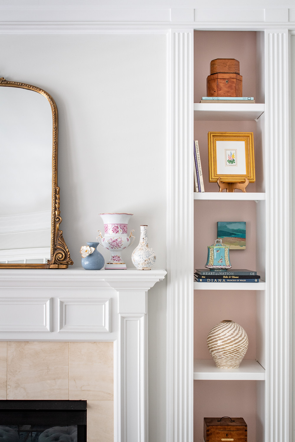 Elegant Retrohemian Chateau: Home Tour, Mudroom and Family Room Mary Hannah Interiors