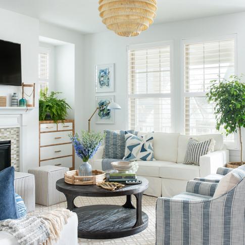Mary Hannah Interiors Portfolio by Room Living Room Designer