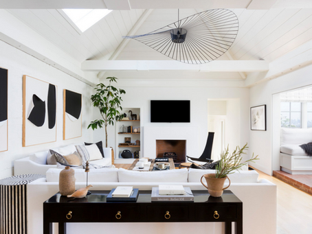 Cool and Crisp Contrast: Home Spotlight