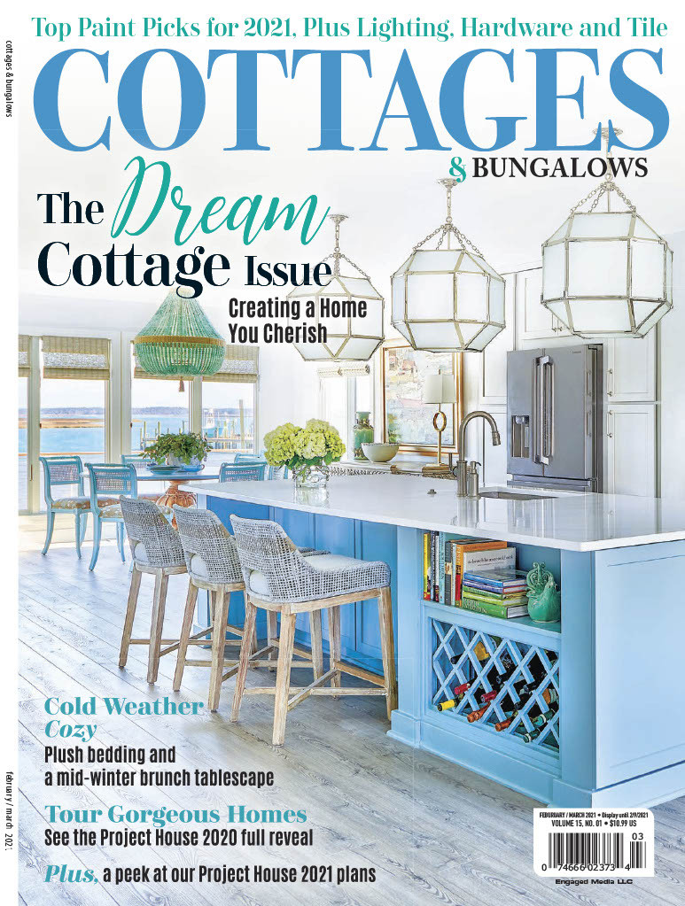 Mary Hannah Interiors Featured in Cottages & Bungalows