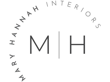 Mary Hannah Interiors' New Logo!