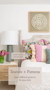 Mary Hannah Interiors | Studio Blog | Guest Bedroom: Fun, Feminine Palette Breakdown