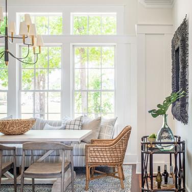 Mary Hannah Interiors Portfolio by Room Dining Wilmington Designer