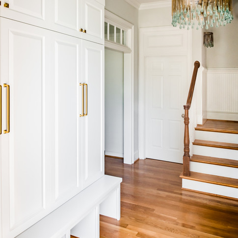 Mary Hannah Interiors Portfolio by Room Entry Mudroom Wilmington Designer